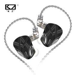 Kz asf 10 unidades ba em fones de ouvido alta fidelidade com cancelamento ruído esporte 10 armadura balanceada fone kz as12 asx zsx zs10 pro s2