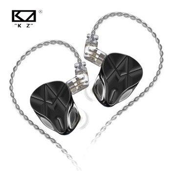 KZ ASF 10 BA unités dans loreille écouteurs HiFi antibruit écouteurs Sport 10 Armature équilibrée casque KZ AS12 ASX ZSX ZS10 PRO S2