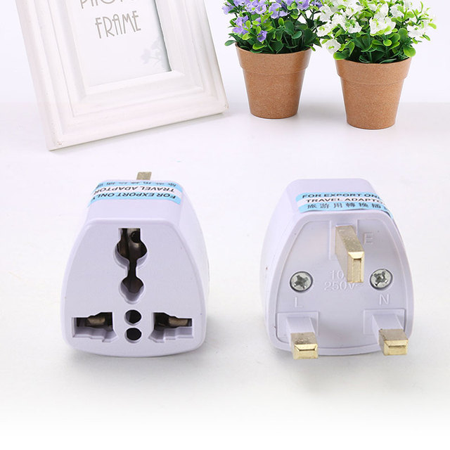 To Universal UK New Converter Gadget Consumer Electronics  UK Plug convert to Universal Plug 5