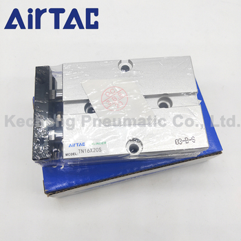 AIRTAC Pneumatic Parts TN Cylinders 20mm Bore 125/150/175/200/250mm Stroke Air Cylinder bore 20mm 10mm stroke mk type pneumatic cylinder rotary clamp cylinder