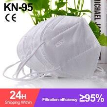 Face-Mask Mascarillas Protective FFP2 Ffp2reutilizable Fpp2 Adult KN95 Fabric 10-100PCS
