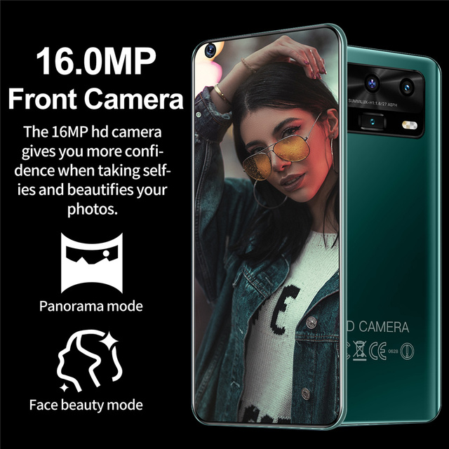 """Smartphone Android X3 12GB 512GB Celulares Octa Core HD Camera 7.2""""  Telephone 5800mAh Global Version 4G 5G Mobile Cell phones 2"""