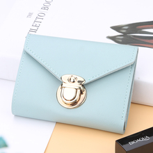 Small Short Wallet Women PU Leather Women Handbags Female Ca