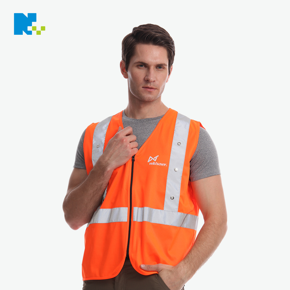 Manufacturers Direct Selling LED Reflective Waistcoat Safety Vest Sanitation Logistics Road Administration Reflective Clothing B