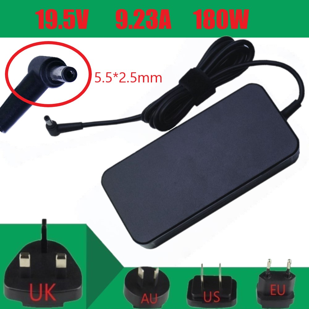 19.5V 9.23A 180W 5.5x2.5mm ADP-180MB F AC Adapter Power Charger Without Power Cord Replacement parts For Asus Laptop