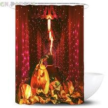 Занавески в стиле Хэллоуин Водонепроницаемая Ванная комната
