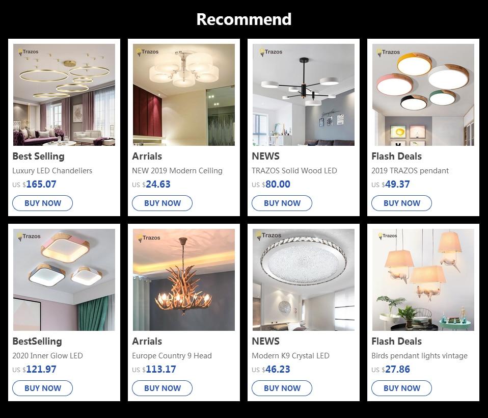 Hb3ce33c701c04061a4d99d659b1ac2f9U NEW 2019 Modern Ceiling Lights modern fashionable design dining room lamp pendente de teto de cristal white shade acrylic lustre