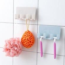 Настенный держатель для ключей и полотенец