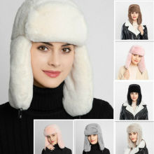 Womens Earcuff Hats Winter Warm Earmuffs Thicken Ear-flapped