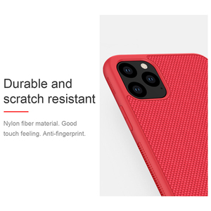 Image 4 - Case for iPhone 11 Pro Max NILLKIN Textured nylon fiber case back cover for iPhone 11 Pro 6.5 inch  phone case durable non slip