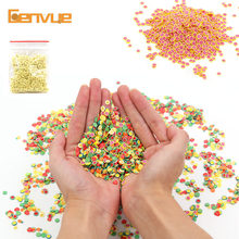 Fimo Fruit Slices Addition For Slime Fluffy Nails Art Tips Lizun Clay Accessories Supplies Sprinkles Sand Toys Glitter Clear Set(China)