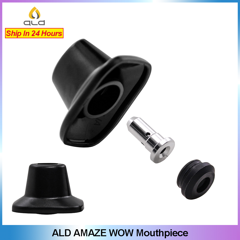 Original ALD AMAZE W0W Mouthpiece Replacement Drip Tip Update Design For ALD AMAZE WOW Dry Herb Vaporizer Vape Pen Accessories