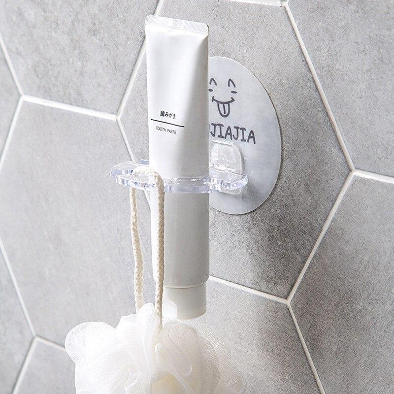 Toothbrush Holder Multifunction Slot Toothbrush Holder Rack Toothbrush Organizer Hanging Storage Wall-mounted Toothbrush Stand