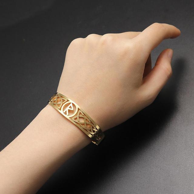 Bracelet Celtic symbole acier inoxydable 6