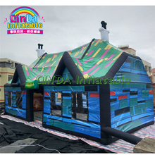 LED Inflatable party bar / inflatable serving tent waterproof pub,inflatable pub house