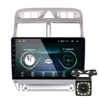 2din Android 8.1 car DVD multimedia player Peugeot 307 307CC 307SW 2004 2013 car radio GPS navigation WiFi Bluetooth player