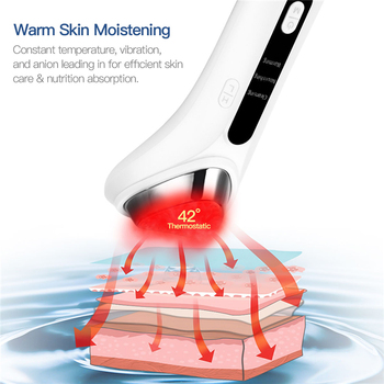 CkeyiN Iontophorese Schönheit Instrument Ultraschall Vibration Gesicht Lift Verjüngung Gesichts Reinigung Falten Entfernung Hautpflege
