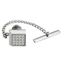 Chain Tie-Tacks Tacks-Tie-Pins Crystal-Tie Garmat-Accessories Wedding Men HAWSON Trendy