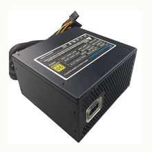 500W PC PSU Alimentazione Nero Gaming Silenzioso Ventola da 120mm 20/24pin 12V ATX PSU Nuovo desktop del computer di Alimentazione Per BTC pc(China)