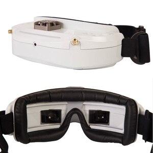 Image 2 - Original skyzone sky03o/sky03s oled versão 5.8ghz 48ch diversidade fpv óculos de proteção suporte osd dvr hdmi com cabeça rastreador fã