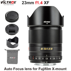 VILTROX 23 мм f1.4 XF объектив с автофокусом APS-C компактный объектив с большой диафрагмой для камеры Fujifilm X-mount X-T3 X20 T30 X-T20 X-T100