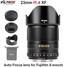 Viltrox lente de foco automático para fujifilm, lente de abertura grande, APS-C compacta, f1.4 xf, câmera de montagem x X-T3, 23mm x20 t30 X-T20 X-T100