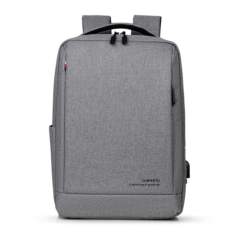 Laptop Bag Backpack 15.6 Inch With USB Charging Port Backbag Travel Daypacks Male Backpack Mochila Business Back Pack Women Men