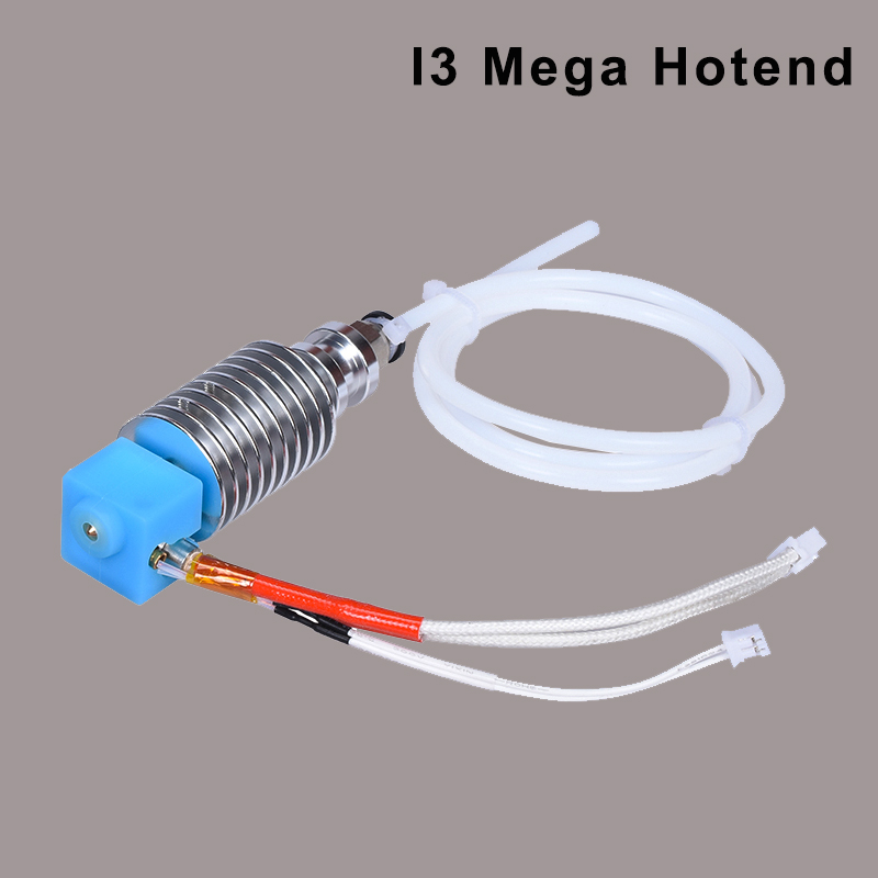 I3 Mega Hotend 12V 24V Bowden Extruder V5 J-head Hotend 3D Printer Parts For Anycubic I3 Mega Mega-S Upgrade Parts Vs V6 Hotend