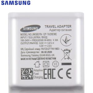 Image 4 - סמסונג המקורי 5V/2A 9V/2A טלפון מטען עבור סמסונג גלקסי S8 S9Plus הערה 9 8 a50 A7 S5Mini S4 S6 S7 סוג C מיקרו USB כבל