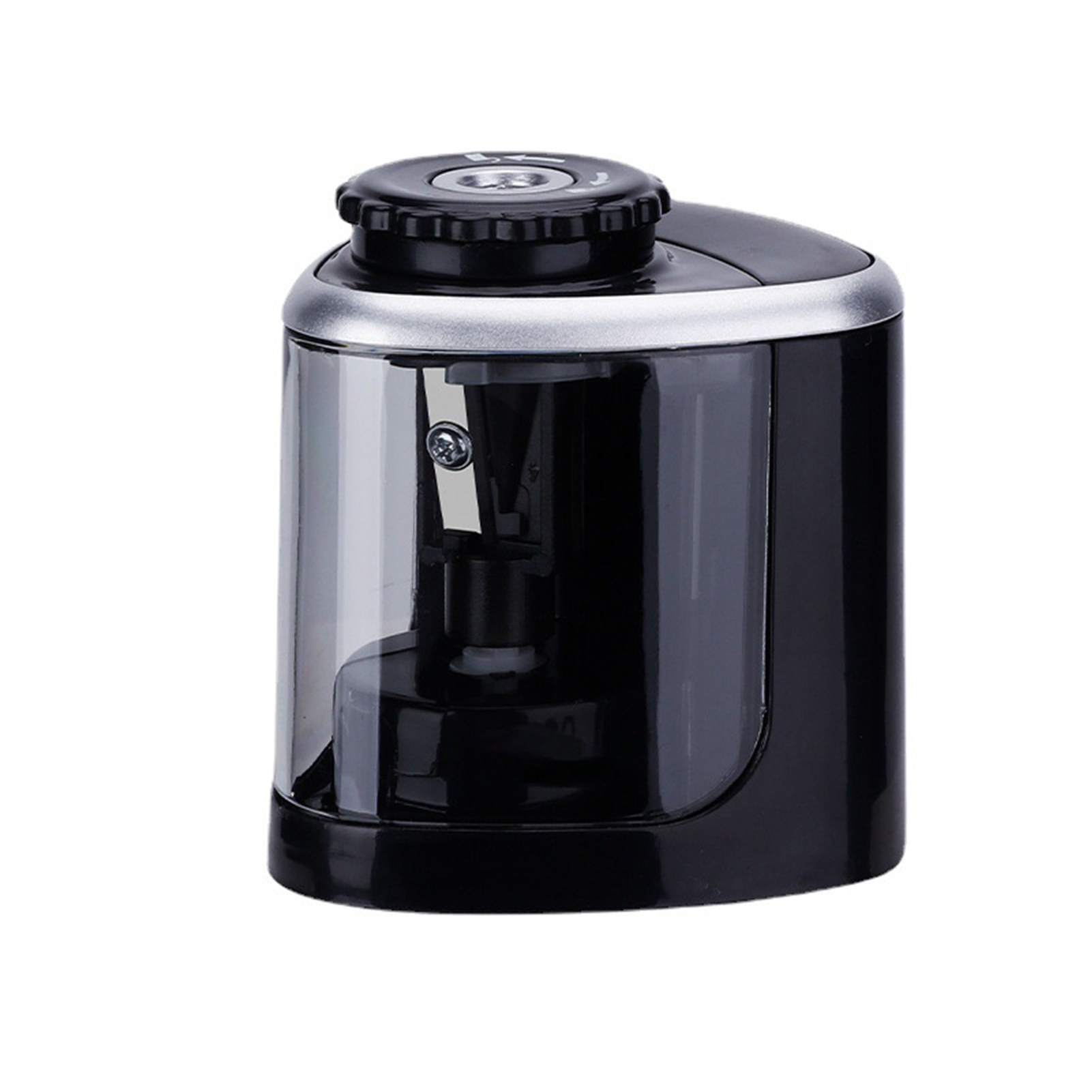 Portable Electric Pencil Sharpener Battery Operated for 6-8mm Pencil for Students Artists Home School Classroom Office