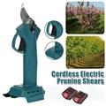 Электрический обрезной станок, садовый электроинструмент, эффективная Обрезка фруктовых деревьев, резак для ветвей, озеленение с аккумуля...