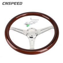 Snap-Off-Hub-Adapter Wooden Steering-Wheel Quick-Release Toyota Santana Nissan 380mm
