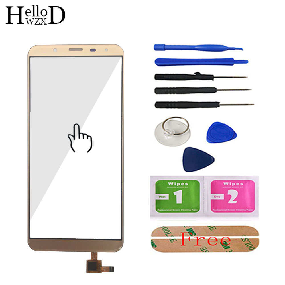 5.7'' Mobile Touch Front Glass For <font><b>Oukitel</b></font> <font><b>K5000</b></font> Touch <font><b>Screen</b></font> Glass Digitizer Panel Touchscreen Sensor Flex Cable Tools image