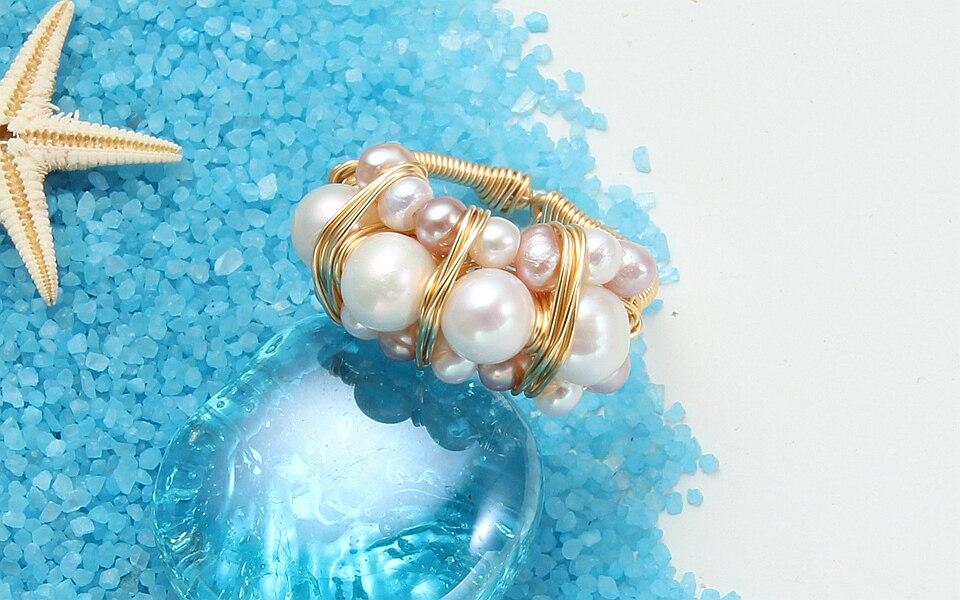 Pearl rings (7)