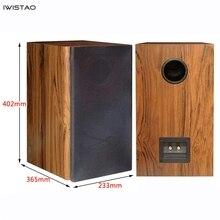 Iwistao 2 Way 6,5 дюймов динамик пустой шкаф пассивный корпус динамика древесины 18 мм высокой плотности МДФ доска объем 24L DIY