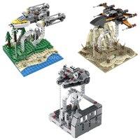 Tensegrity esculturas star fighter wars moc blocos de construção millennium x-wing falcon y-wing anti-gravidade crianças brinquedos criança presente