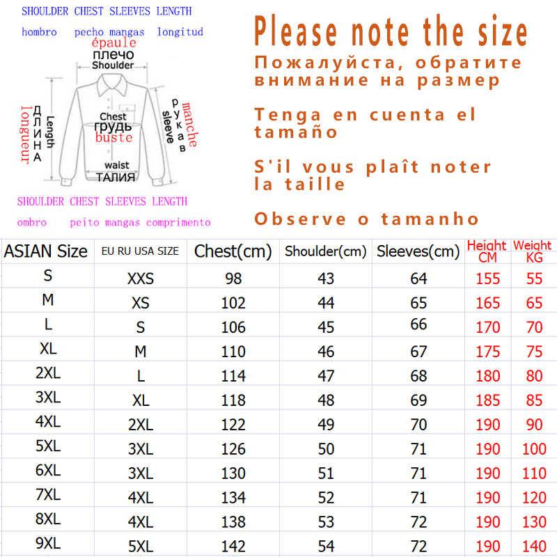 JANPAN Style większe patchworkowe kieszenie 2019 kurtka jesienno-jesienna mężczyźni Streetwear Bomber odzież Plus rozmiar azjatycki M-5XL