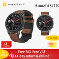 Globale Versione Amazfit GTR 47 millimetri di Smart Orologio 5ATM Impermeabile Smartwatch 24 Giorni Batteria GPS di Controllo di Musica di per Android IOS