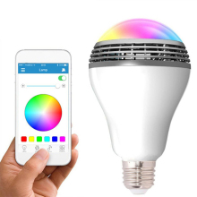 WiFi Smart RGB E27 Bulb Bluetooth Audio Speakers Lamp Dimmable LED Wireless Music Bulb Light Color Changing WiFi App Control