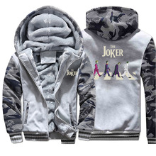 The Joker Winter Camo Jacket Men Eric Border Fleec