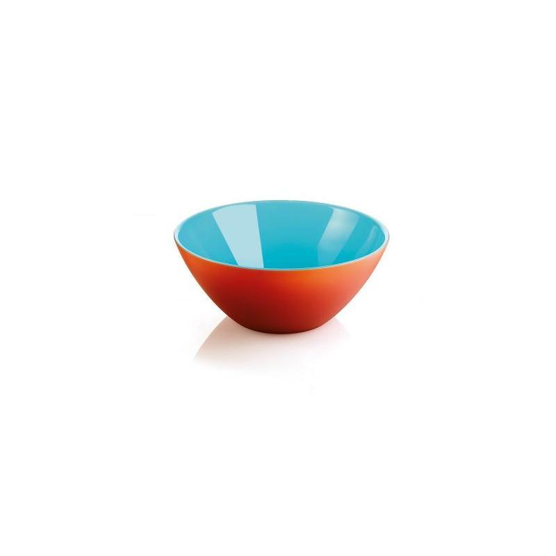 цена на Салатница guzzini, My Fusion, 20 см, красный-голубой