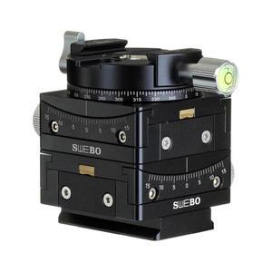 Image 3 - Hassas seçimi vites tripod başkanı 15 ° kaymak bina manzara panoramik çekim Video canon nikon sony kamera