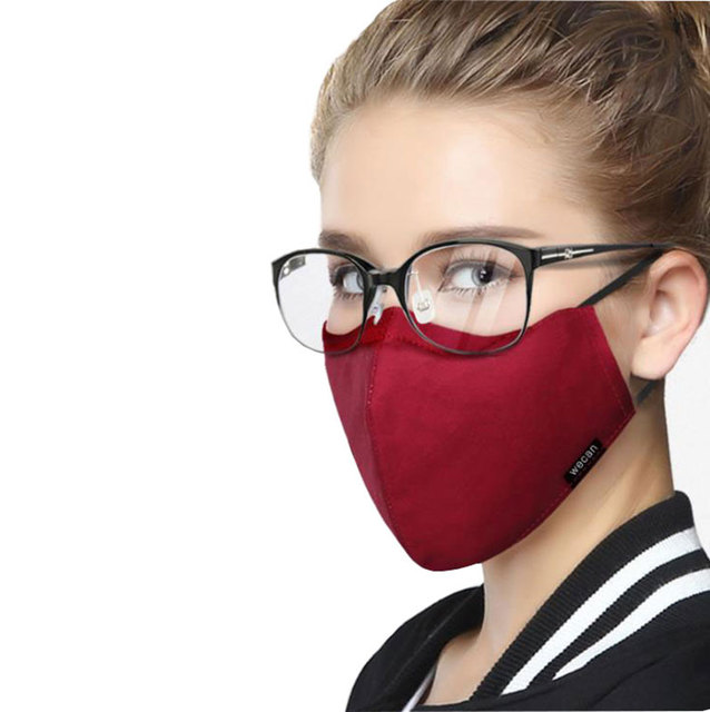Korean Cotton Face Mask Anti-Dust Mask Respirator with Activated Carbon Filter Anti Dust Black Kpop Glasses Mask On The Mouth 1