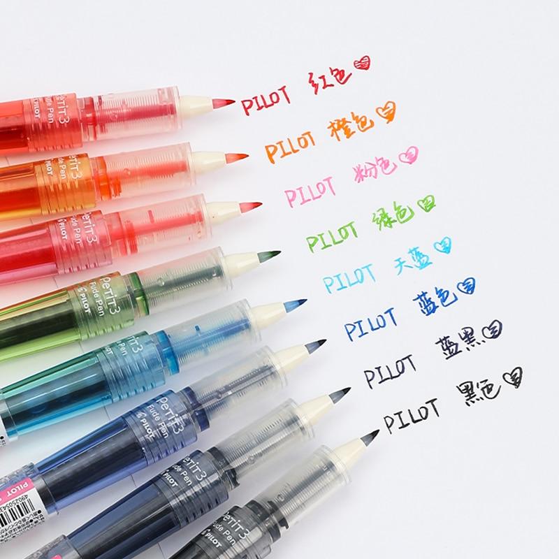 LIGHT BLUE 1 Pen Pilot Petit 3 SPN-15KK Mini Fude Brush Pen