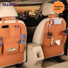 Многофункциональный органайзер для автомобильных сидений, автомобильные подвесные сумки, сумка для сидений, сумка для хранения из гуманного войлока, чехлы на заднее сиденье, карманы