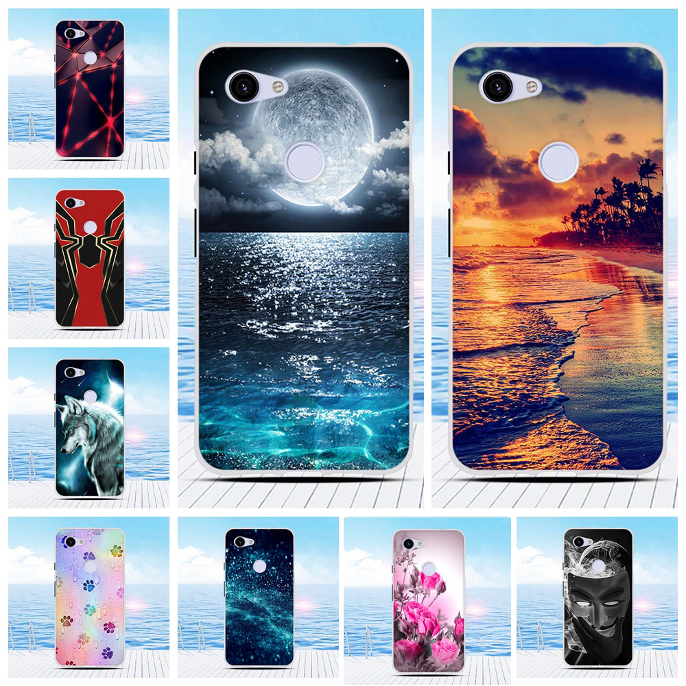 For Google Pixel 3A G020 Silicone Case TPU For Google Pixel 3A Cartoon Bumper Back For Google Pixel 3A Coque Case Bag 5.6 Inch