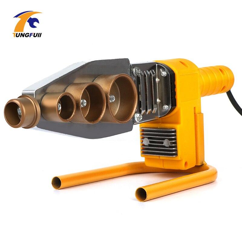 800W Digital Display Temperature Control Plastic Welding Machine Water Pipe Plastic Welder Plumber Heating PPR RPV Butt Welding