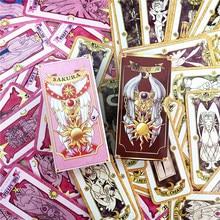 Cartões de tarô para cosplay, 1 conjunto de cartões de anime para cosplay