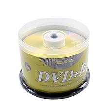 50PCS DVD Sticks Leere DVD + R CD Disk 4,7 GB 16X Bluray Schreiben Einmal Daten Lagerung Leere DVD discs Beschreibbare Media Kompakte