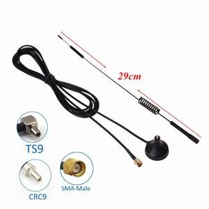 4G антенна TS9 3G LTE присоски антенны WiFi SMA/CRC9 male 10dBi магнитное основание 3 м кабель для Huawei ZTE USB донгл модем